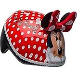 BELL Minnie Mouse 3D - Casco para bebé con Orejas y Lazo, diseño de Lunares, Color Rojo