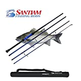 Santiam Fishing Rods Travel Rod 4 Piece 11′ 17-40lb Surf Rod