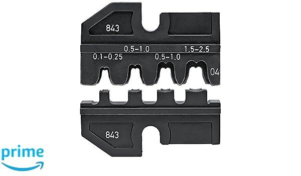 KNIPEX 97 99 071 Terminales anulares para tornillo sin aislar