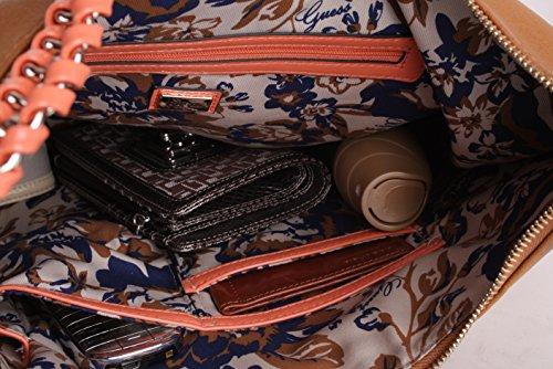 Guess Shopper Schultertasche Tasche Pembrook Cognac #GU080A