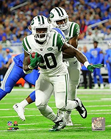 finest selection d9ee3 82e62 Amazon.com: Isaiah Crowell New York Jets Action Photo (Size ...