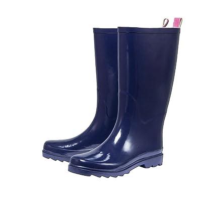 buy online 36a9b 80ad0 WALKX Damen Regenstiefel Gummistiefel Stiefel Damenstiefel ...