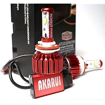 Amazon Com Akarui Led Headlight Bulbs Conversion Kit