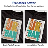 Avery Printable Heat Fabric Transfer Paper for