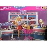 Barbie Shoppin' Fun Barbie & Kelly Supermarket Playset (1996 Arcotoys, Mattel)