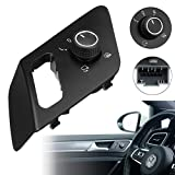 CoCocina Side Mirror Adjusting Switch Control Heatable 5GG959565C for Golf MK7 2014-2016