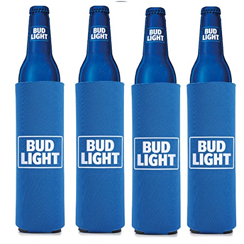 Amazon.com: Bud Light 16 Oz Beer/Water Slim Bottle  Set Of 4: Kitchen U0026  Dining