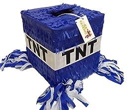 Blue TNT Pinata by APINATA4U