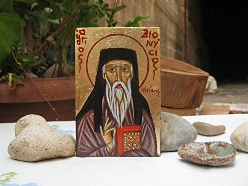 St Dionysios of Zakynthos mini icon of the Walking for sale  Delivered anywhere in USA