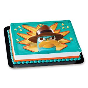Cake Decorating Kit Of The Month : Amazon.com: Decopac Phineas and Ferb Agent P Spy Tool DecoSet Cake Topper: Toys & Games
