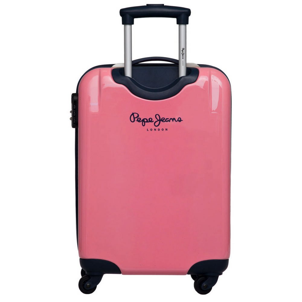 Pepe Jeans - Juego de maletas 55/68cm Multicolor (Rosa) 1940901: Amazon.es: Equipaje