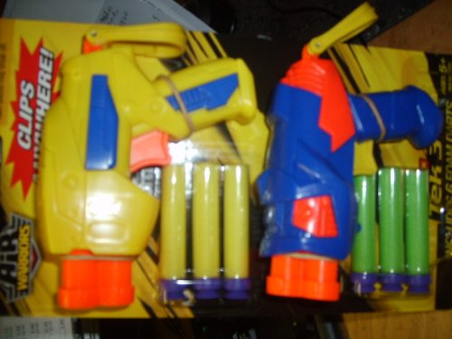 Air Warriors Tek-3 Dart Gun Set & 6 Darts