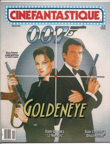 CINEFANTASTIQUE MAGAZINE 007 GOLDENEYE 1995 JAMES BOND