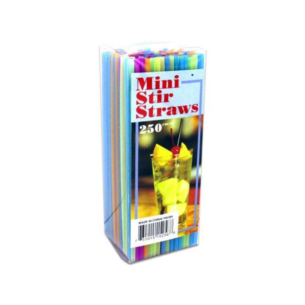 72 Mini stir straws