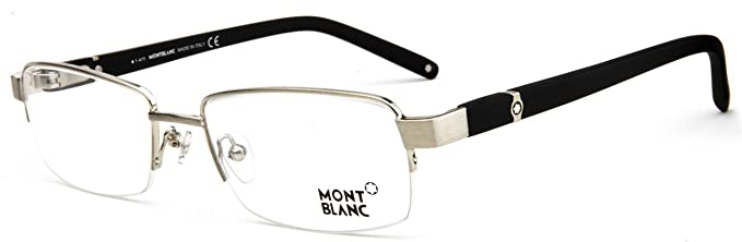 ff5dab5dda6 MontBlanc MB385-014 Men s High-end Business Half-Rim Optical eyewear  eyeglasses frames