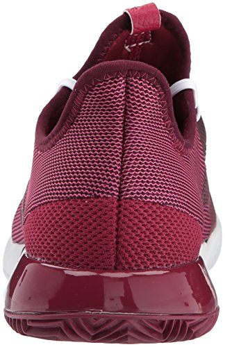 Adidas Adizero Defiant Bounce W Zapato De Tenis, Mystery Ruby / White / Red Night, 6.5 M Us Mystery Ruby / White / Red Night