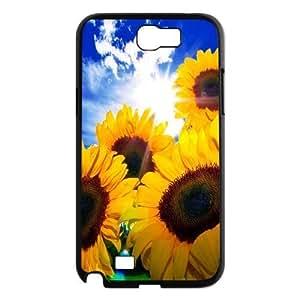 AinsleyRomo Phone Case Sunflowers art case For Samsung Galaxy Note 2 Case FSQF478069