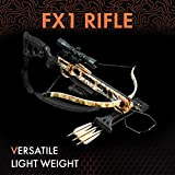 Viking FX1 Recurve Crossbow Package with Rifle