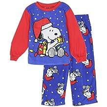 Peanuts Snoopy Christmas Toddler Pajama 2 Piece Set