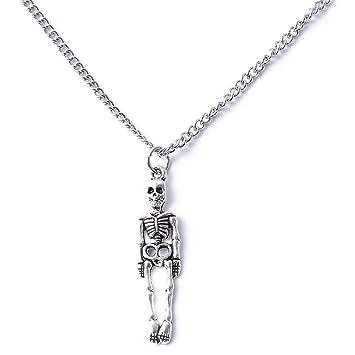 UINKE Llavero de Esqueleto Simple Estilo Retro, Regalo Ideal ...