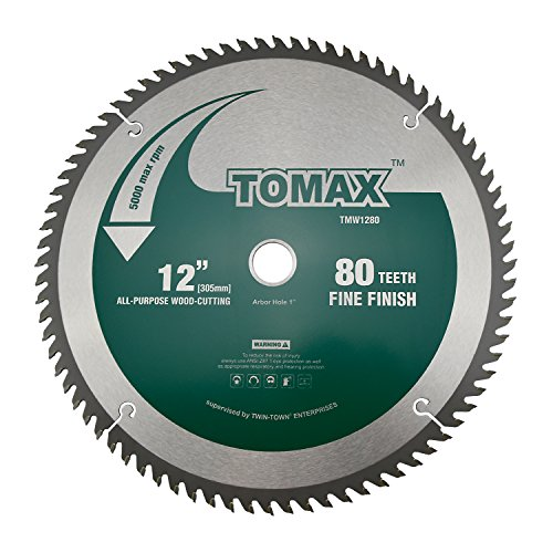 12 in finish blade - 8