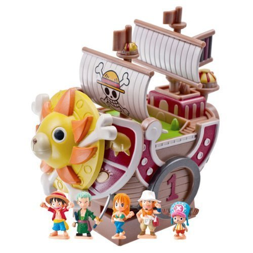 Megahouse One Piece: Pirate Ship Thousand Sunny Chara Bank Action Figure