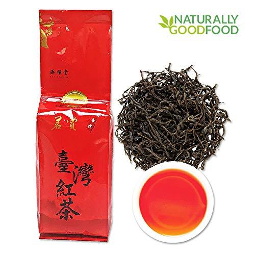 (Yan Hou Tang Organic Taiwan Sun Moon Lake Red Jade Oolong Black Tea Loose Leaf 75g - Pure Nature Alpine High Mountain Grown Unique Honey Flavor Breakfast Half Fermented Caffeine Medium US FDA SGS)