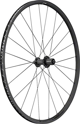 (DT Swiss PR 1400 Dicut Oxic Road Wheel - Tubeless Black, Rear, Shimano/SRAM)