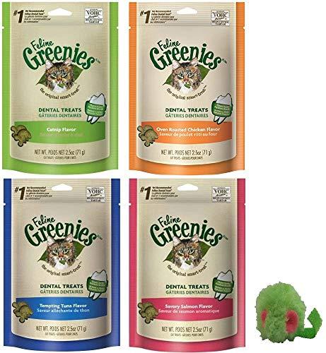 Greenies Feline Dental Treats Variety