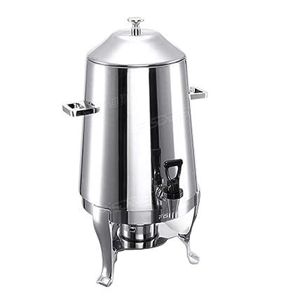 Máquina de bebidas de acero inoxidable de 15L - calentador de café de leche comercial -