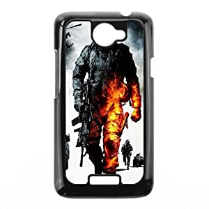 HTC One X Cell Phone Case Black Military Burning Soldier LV7940945