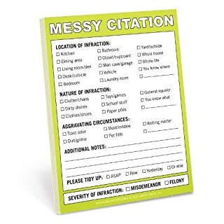 Knock Knock Messy Citation Nifty Notes