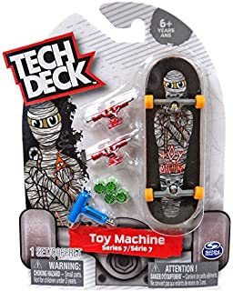 Amazon com: Tech Deck Series 7 Complete Fingerboard W/ 32mm Trucks