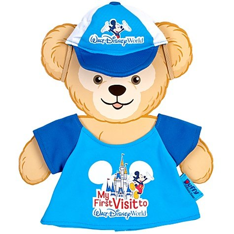 [Walt Disney World Duffy Bear My First Visit Outfit Costume 2 Pc. Cap & Shirt Set - NEW] (Walt Disney Outfits)