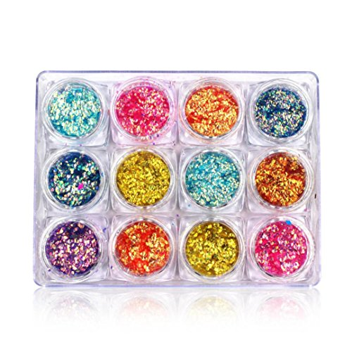 3D Sequins Nail Supplies, WuyiMC Different Designs Nail G...