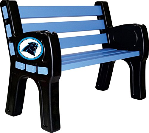 Imperial Officially Licensed NFLFurniture; Park Bench, Carolina Panthers