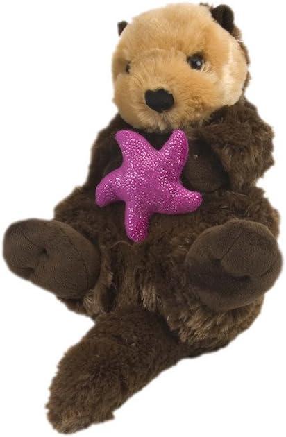 Wild Republic Sea Otter Plush, Stuffed Animal, Plush Toy, Gifts for Kids, Cuddlekins 12 Inches