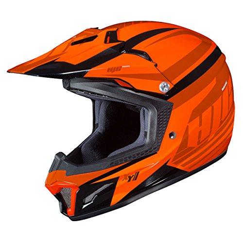 - HJC Youth CL-XY 2 Helmet - Bator (Small) (Orange/Black)