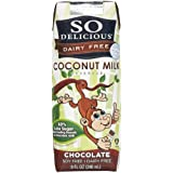 So Delicious Organic Coconut Milk - Chocolate Aseptic - 8 oz - 4 pk