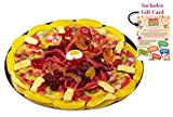 GIANT GUMMY CANDY PIZZA in a Pizza Box (15.34 Oz) – Includes Custom Gift Card