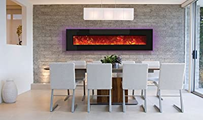 Amantii Advanced Series Wall Mount/Built-In Electric Fireplace