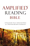 Amplified Reading Bible, Hardcover: A Paragraph-Style Amplified Bible for a Smoother Reading Experience