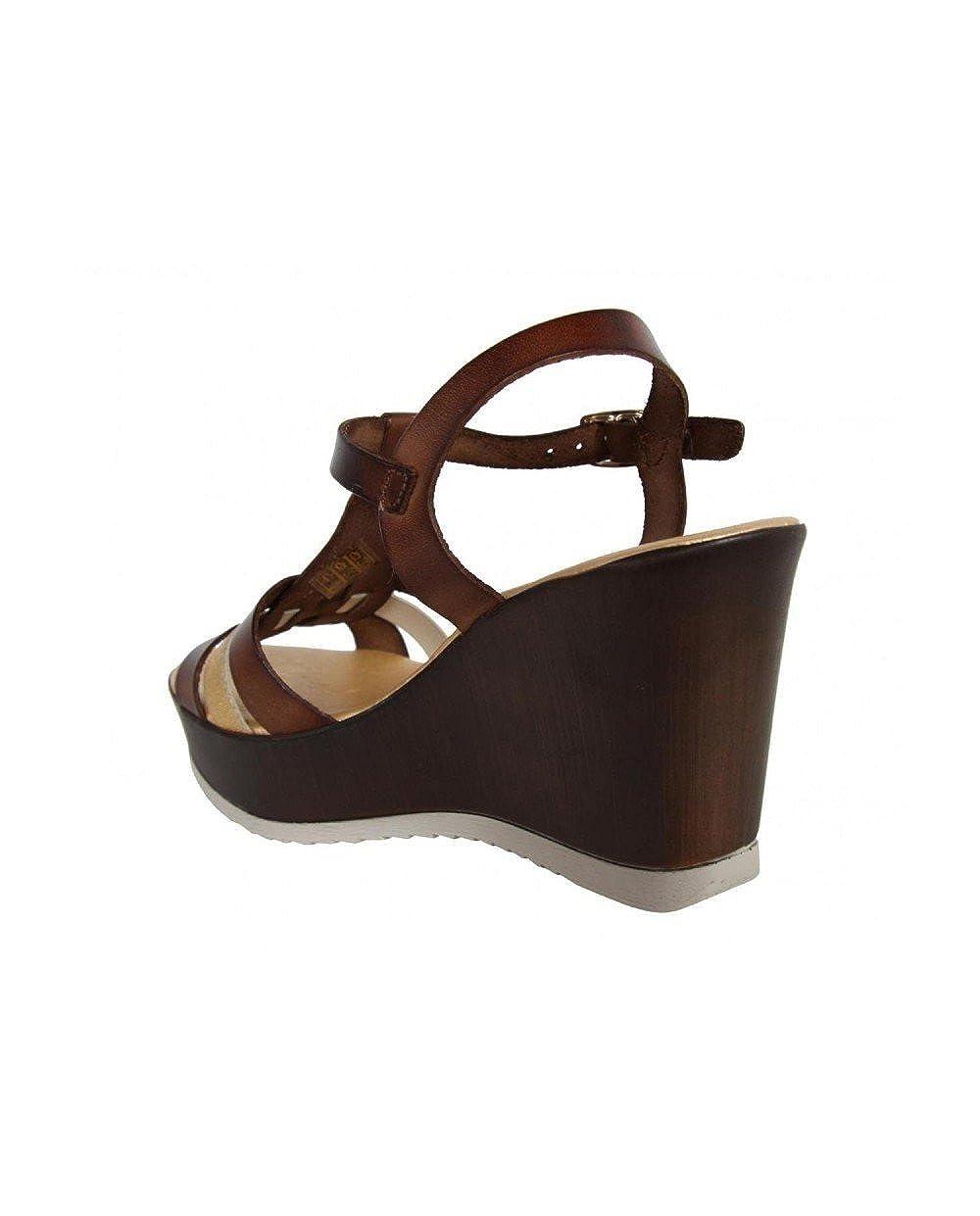 CUMBIA CUMBIA CUMBIA Schuhe Keilabsatz für Damen 30132 Gold-NUEZ aa5fb7