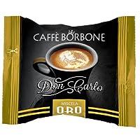 Caffè Borbone Capsule Don Carlo Miscela Oro - Confezione da 100 Capsule - Compatibili Lavazza A Modo Mio