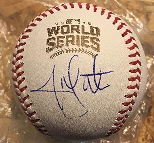 - Jon Lester Autographed Signed Auto 2016 World Series Baseball Ball Cubs Memorabilia JSA COA