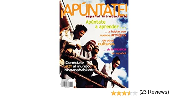 Amazon.com: Apuntate!: Espanol Introductorio (9780077405366): Ana ...