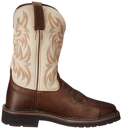 Justin Original Work Boots Mens Stampede Boot Copper Kettle Cowhide