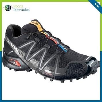 detailed look c1606 0cebb Salomon Speedcross 3 Mens Trail Running Shoes - UK 9 - Black Silver -   Amazon.co.uk  Sports   Outdoors