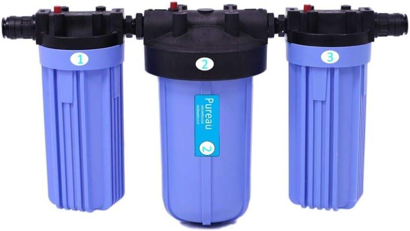 Purificador de agua Pureau 2 y filtro de agua para toda la casa. 2 ...