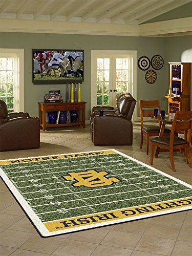 Notre Dame Carpet - Notre Dame College Home Football Field Rug: 54